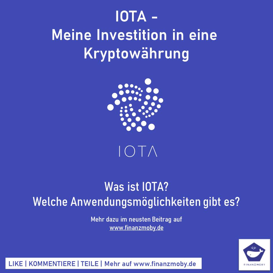 IOTA - Meine Investition in eine Kryptowährung