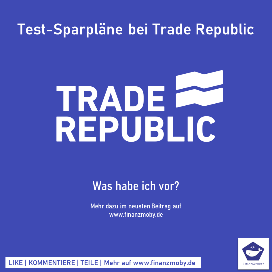 Test-Sparpläne bei Trade Republic