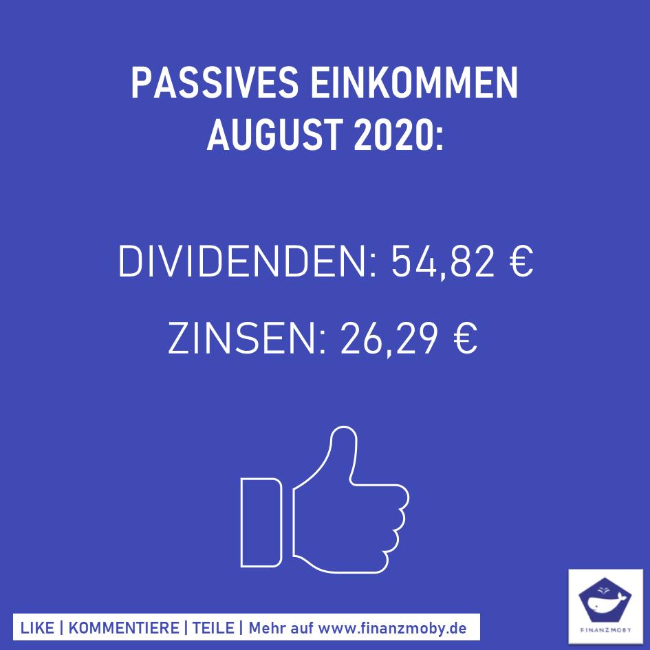 passives-einkommen-august-2020